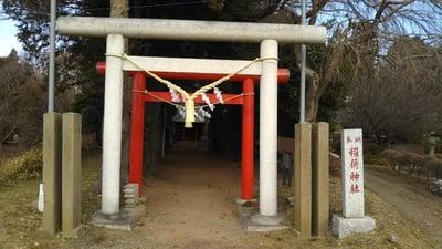 茨城県三吉稲荷神社の鳥居
