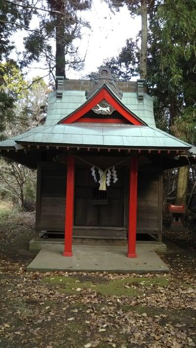茨城県三吉稲荷神社の本殿