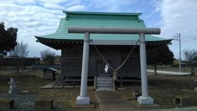 茨城県静神社の写真
