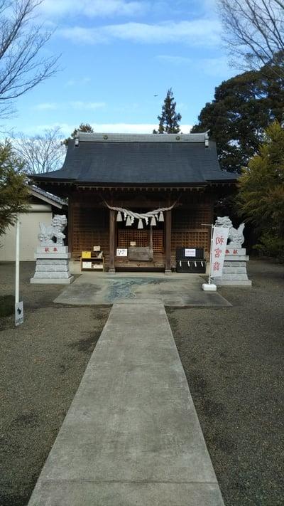 茨城県羽黒神社の本殿