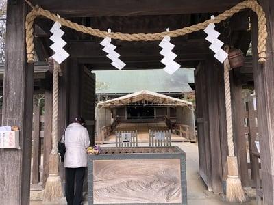千葉県意富比神社の山門