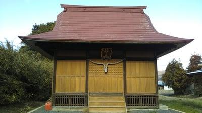 茨城県熊野鹿島神社の本殿