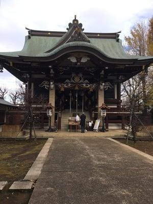 諏訪神社(東京都西早稲田駅) - 本殿・本堂の写真