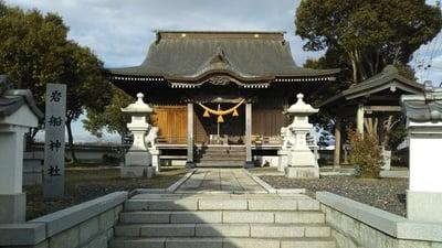 岩船神社の本殿