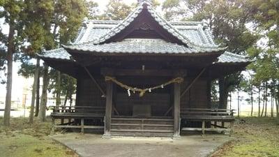 河合神社の本殿
