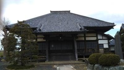枕石寺の本殿