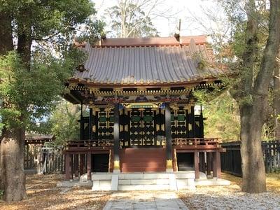 千葉県常盤神社の本殿