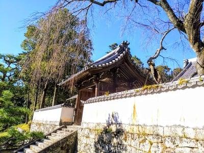 愛知県高月院の山門