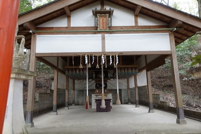 大阪府美具久留御魂神社の本殿