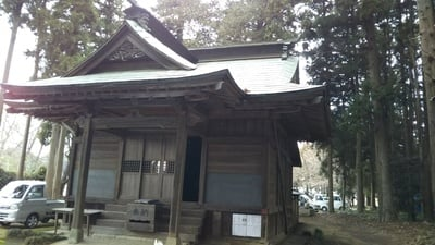 茨城県諏訪神社の本殿
