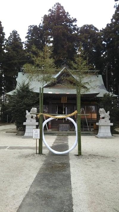 茨城県鹿嶋三嶋神社の本殿