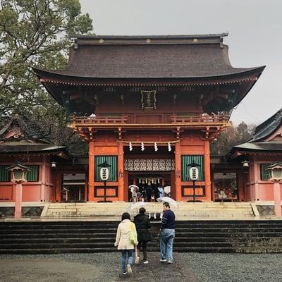 静岡県富士山本宮浅間大社の山門