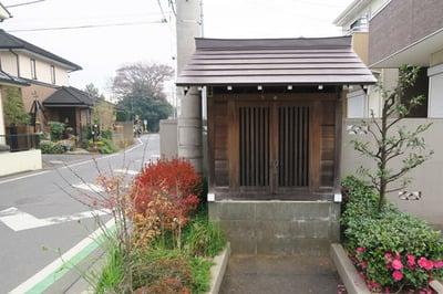吹上稲荷神社の本殿