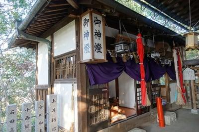 大阪府星田妙見宮の本殿