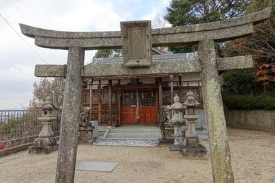 大阪府慈眼寺の鳥居