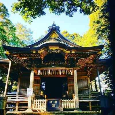 諏訪神社の本殿