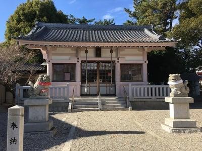 二本木八幡社の本殿