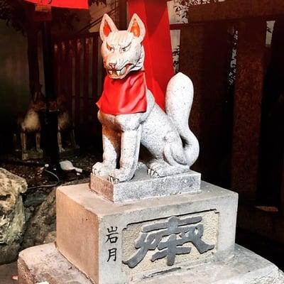 愛知県北野神社の狛犬