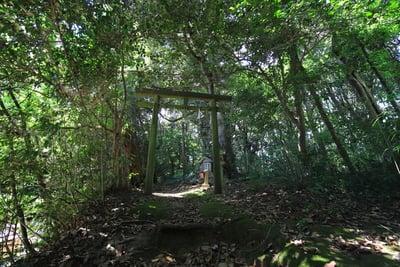 島根県平濱八幡宮の鳥居