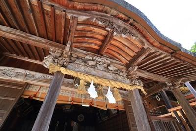 島根県平濱八幡宮の本殿