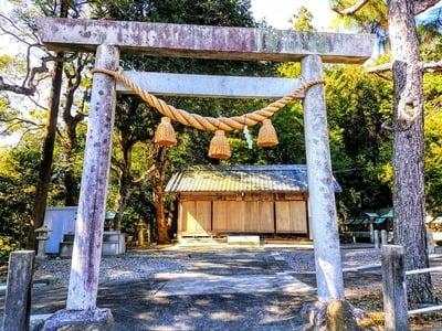 熊野神社(乙方熊野神社)の鳥居