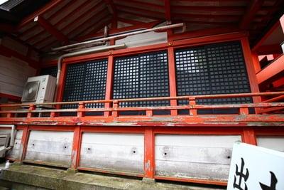 広島県草戸稲荷神社の本殿