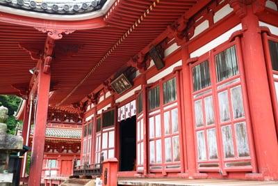 広島県明王院の本殿