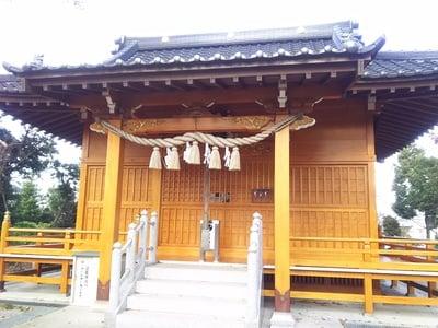 埼玉県足立神社の本殿