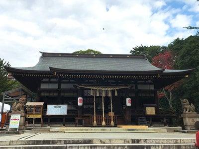 弓弦羽神社の本殿