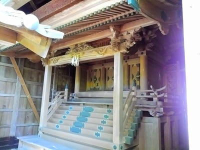 八幡神社(切山八幡神社)の本殿