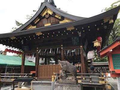 京都府護王神社の本殿