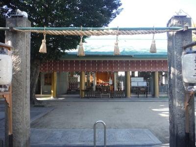 大阪府八劔神社の鳥居