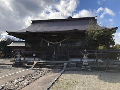 岡山県美作総社宮の本殿
