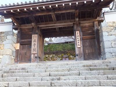 京都府三千院門跡の山門