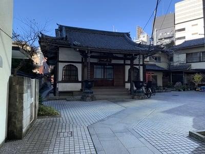 東京都長幸寺の本殿
