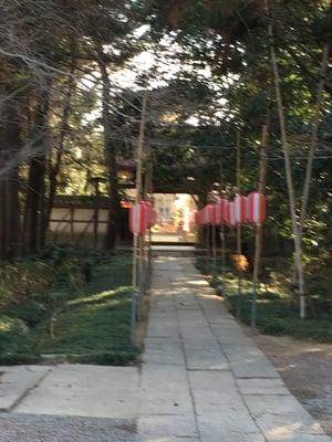 埼玉県常光院の山門