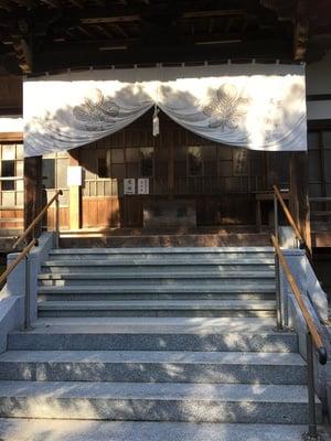 埼玉県常光院の本殿