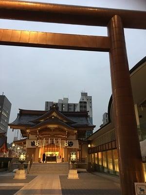 東京都水天宮の鳥居