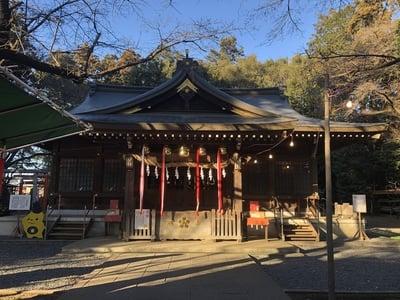 埼玉県物部天神社・國渭地祇神社・天満天神社の本殿