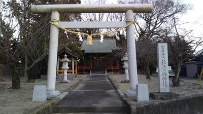 茨城県秋葉山神社の鳥居