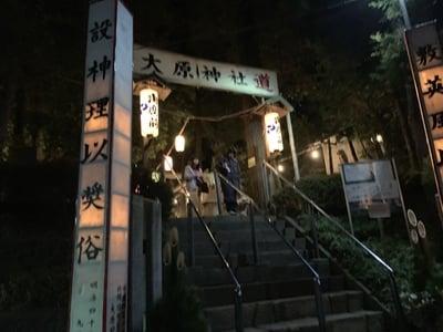 千葉県大原神社の写真