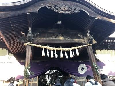 千葉県葛飾八幡宮の本殿