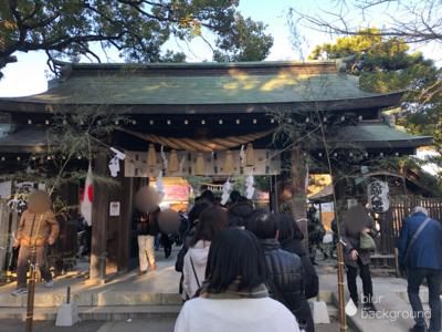 千葉県葛飾八幡宮の山門