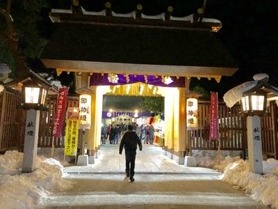 福島県西根神社の本殿