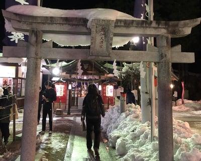 西根神社(福島県飯坂温泉駅) - 鳥居の写真