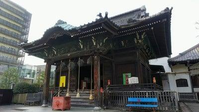 東京都海雲寺の本殿
