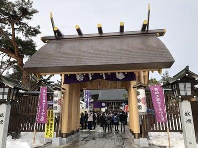 西根神社(福島県飯坂温泉駅) - 山門・神門の写真