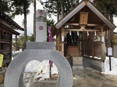 福島県西根神社の写真