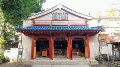 東京都品川寺の本殿