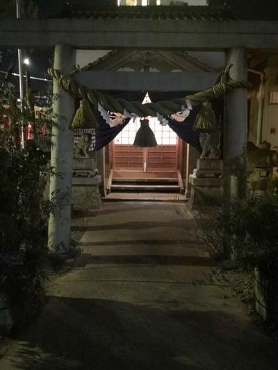 愛知県恵美須神社の鳥居